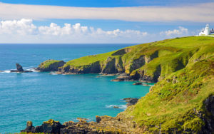 A beautiful landscape of Cornwall
