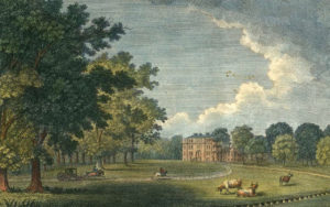 Painting of Repton Gidea Hall
