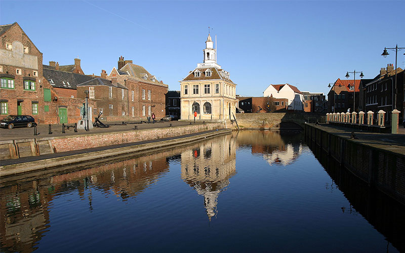 A landscape of King's Lynn
