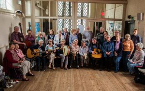 A picture of the St Helens U3A folk music group