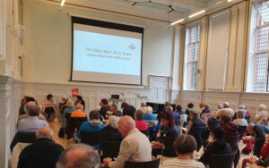 u3a members meeting together in front of a screen
